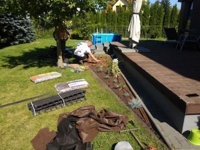 ogród przydomowy w gruszczynie 1
